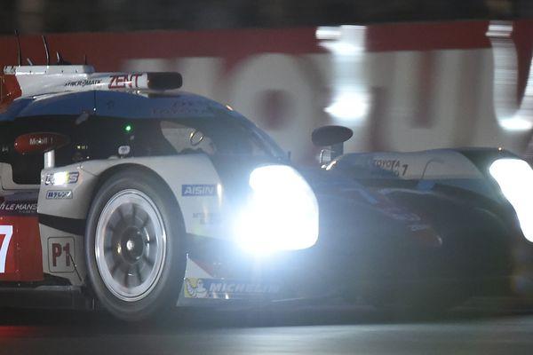 La Toyota N°7 avait décroché la pole position et un record sur cette édition 2017 des 24 Heures du Mans avant de devoir abandonner comme la N°9.