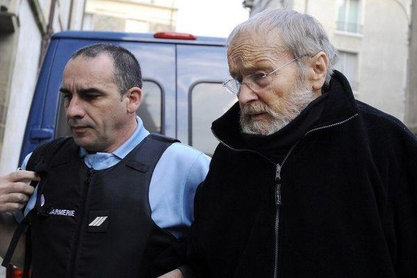 Maurice Agnelet à son arrivée pour entendre l'énoncé du verdict