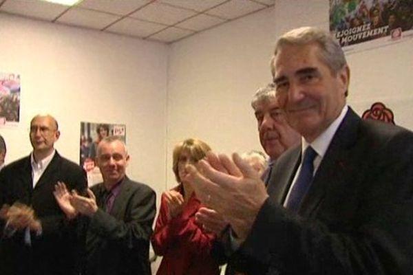 Le socialiste Jean-Paul Denanot, président du conseil régional du Limousin, fait son entrée au Parlement européen