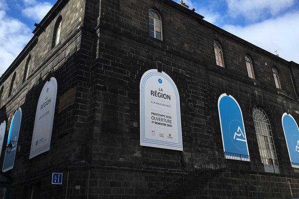Le nouveau Frac, installé dans le bâtiment de la Halle aux Blés à Clermont-Ferrand, ouvrira ses portes en 2021.