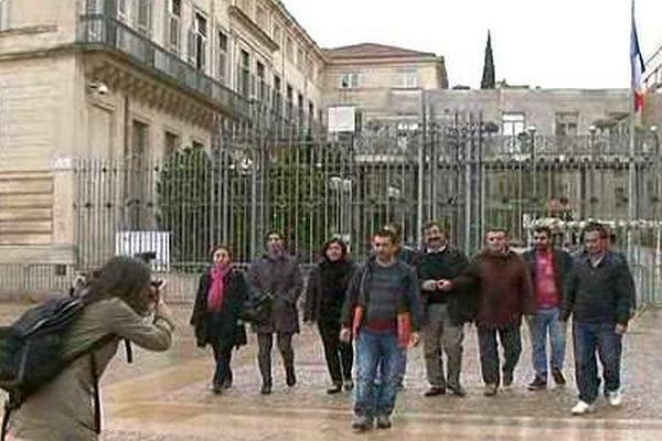 Montpellier - des associations d'aide aux migrants reçues en préfecture - 4 avril 2016.