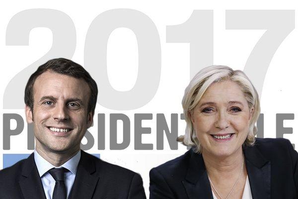 2nd tour élection présidentielle 2017 - Emmanuel Macron et Marine Le Pen