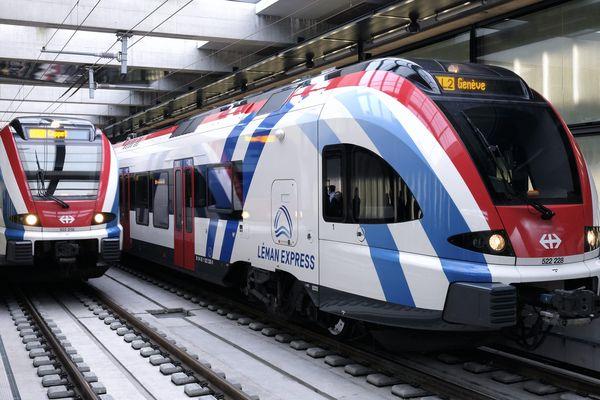 Le Léman Express Annemasse-Genève.