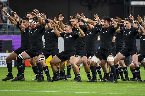 "Le ""Haka"" des All-Blacks fera résonner le Stadium de Toulouse le 15 septembre 2023."