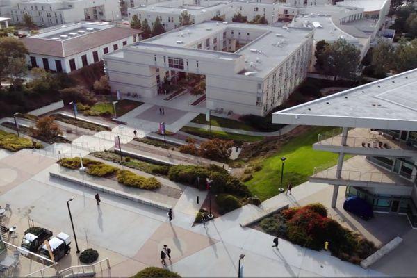 Le campus de San Diego (Californie)