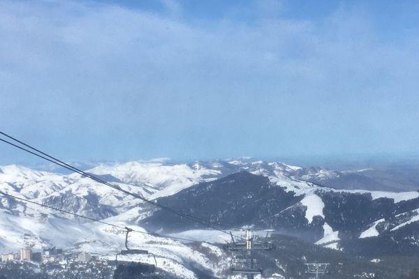 A la Pierre St Martin, les conditions de ski sont parfaites