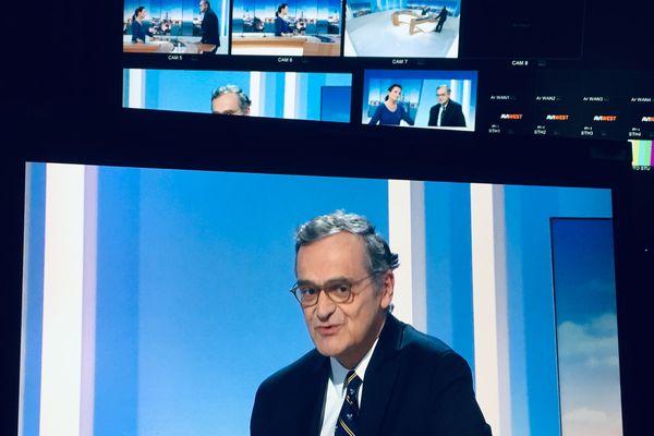 Roch-Olivier Maistre, président du CSA, invité du journal de France 3 Aquitaine ce vendredi 29 mars 2019