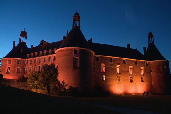 Le château de Saint-Fargeau, dans l'Yonne, en juillet 2020.
