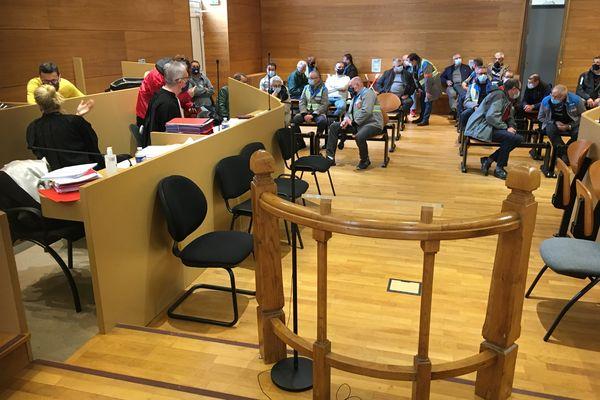 L'audience avait eu lieu le 21 mai 2021 au tribunal des Prud'hommes de Guéret.