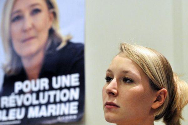 Marion Maréchal Le Pen,  membre du conseil stratégique de campagne de Marine Le Pen.
