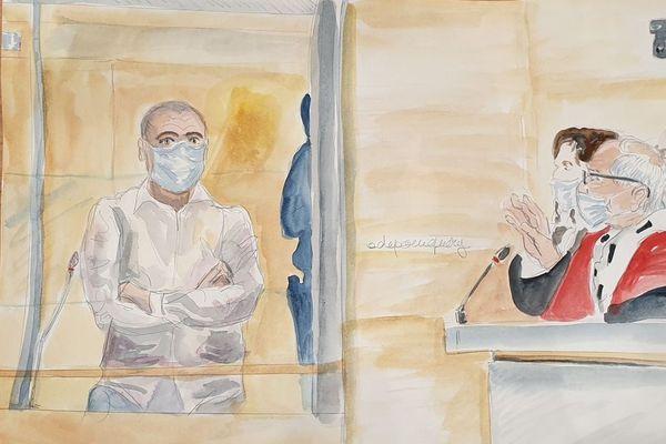 Ali Riza Polat, principal accusé du procès, a été testé positif à la Covid-19.