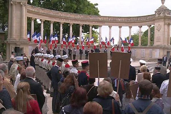 Montpellier - 71e anniversaire de l'armistice de 1945 - 8 mai 2016.