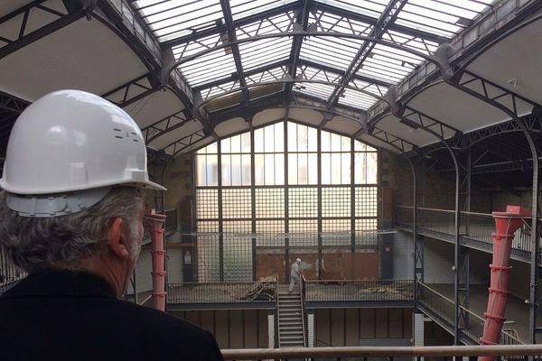 Les travaux ont débuté dans cette ancienne imprimerie du XIXe qui accueillera bientôt le Frac Artothèque du Limousin