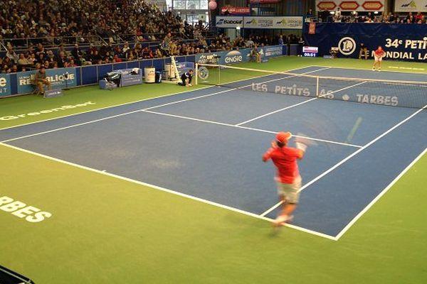 La finale garçons du tournoi des Petits AS remporté par l'américain Leustian face au croate Devald