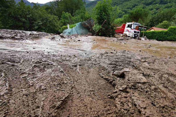 Coulée de boue à Saint-Paul-de-Varces
