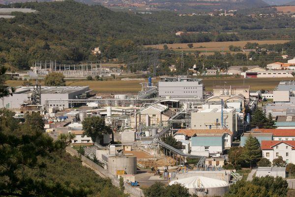 L'usine Sanofi à Sisteron.