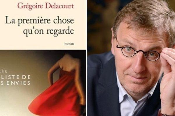 """Le nouveau romain de l'écrivain valenciennois Grégoire Delacourt s'appelle """"La première chose qu'on regarde""""."""