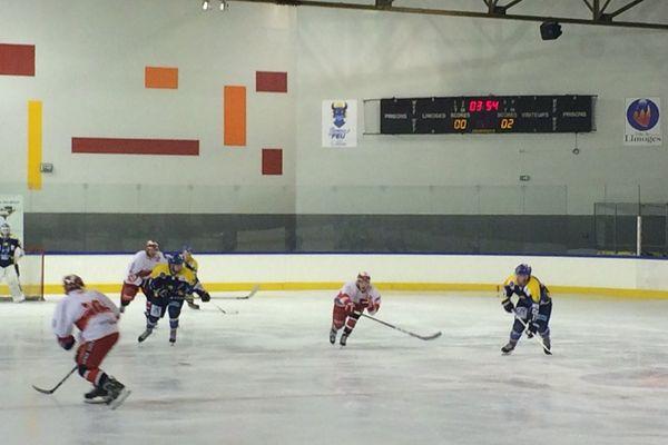 Samedi 18 février, patinoire des Casseaux à Limoges