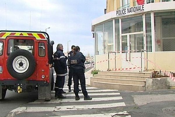 Sète (Hérault) - Le commissariat - 28 avril 2013.