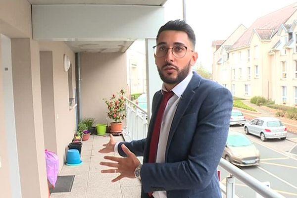 Farid Harres, attaché de clientèle Picardie Habitat, habilité à dresser des procès verbaux - Mars 2019