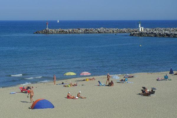 La plage naturiste de Leucate juin 2012