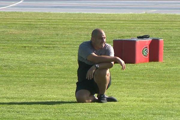 Le Manager général du RCT Patrice Collazo derrière un groupe qui manque encore de confiance.