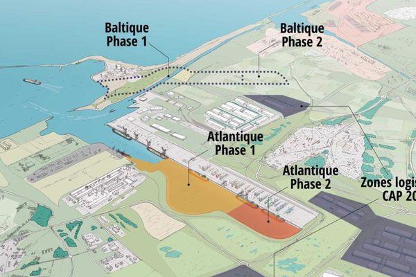Un nouveau bassin sera créé dans le Port de Dunkerque.