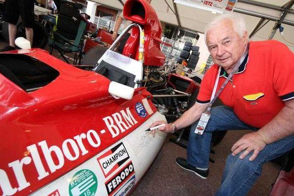L'ancien pilote de Formule 1 Jean-Pierre Beltoise à Monaco, le 12 mai 2012.