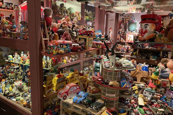 L'incroyable collection de jouets de Bernard Goëtz