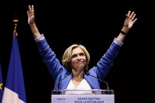 Valérie Pécresse élue de nouveau présidente de la région Île-de-France.