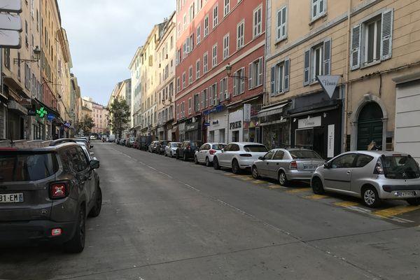 Bastia, ce matin