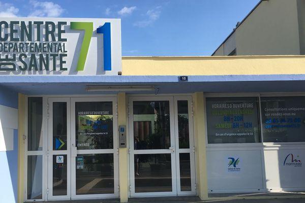 Le Centre de santé départemental de Montceau-les-Mines