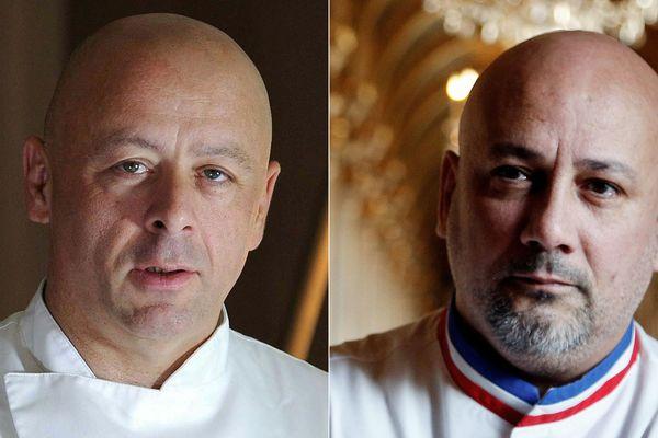 Thierry Marx et Frédéric Anton ont décroché les deux restaurants de la Tour Eiffel.