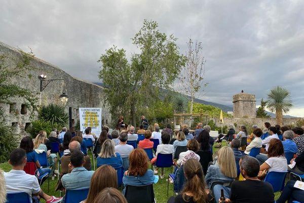 Les rencontres littéraires Libri Mondi se tiennent à Bastia jusqu'au 26 septembre.