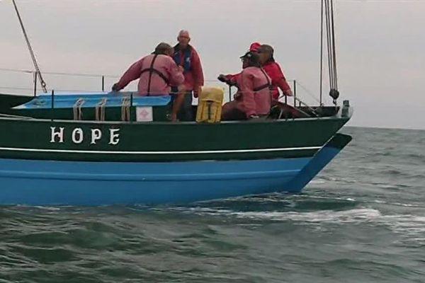 """Le Hope géré par L'association """"Suroît"""", vieux gréement basé à Saint-Gilles-Croix-de-Vie"""