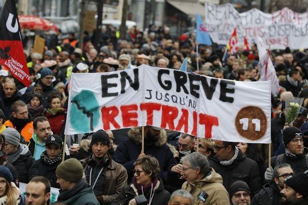 Après plus d'un mois de grève, le mouvement contre la réforme des retraites continue. Photo d'illustration