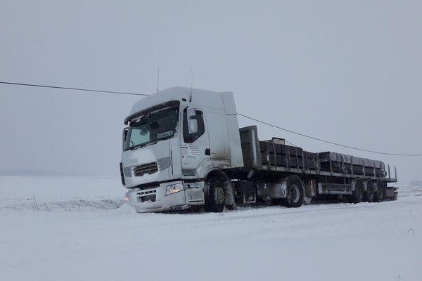 A cause de la neige, la circulation est difficile sur tout le territoire champ-ardennais.
