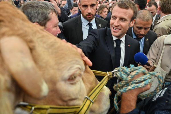En octobre 2019, le président de la République Emmanuel Macron s'était rendu au Sommet de l'élevage à Cournon-d'Auvergne près de Clermont-Ferrand.