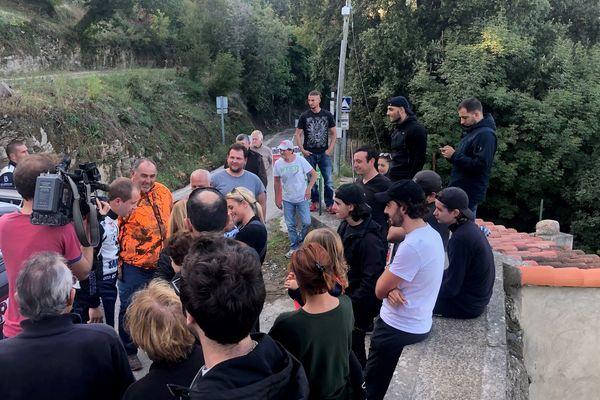 Il est un peu plus de 16 heures, ce samedi 26 octobre, lorsque Francois-Frédéric Navarra arrive à Santu-Petru-Di-tenda.
