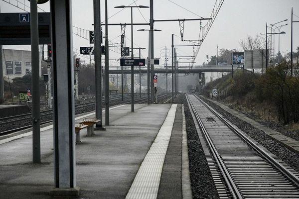 Le 5 décembre, date de l'appel intersyndical et interprofessionnel à la grève, seulement 1 TER sur 100 circulera dans les Hauts-de-France.