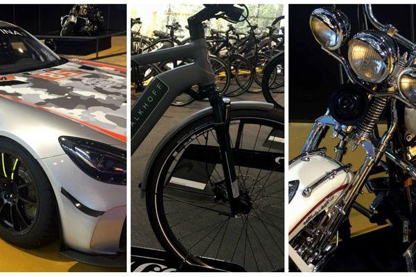 Pendant trois jours tout ce qui roule est au Parc Expo de Mulhouse, auto, moto, vélo.