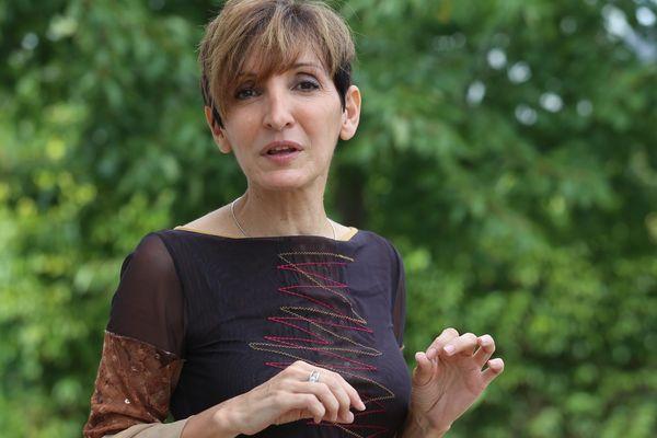 Stéphanie Villemin voit sa proximité avec le président Macron comme un argument de campagne.