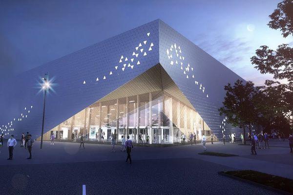 L'Arena Futuroscope est l'un des projets porté par le Département de la Vienne.