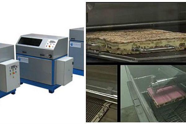 La société Hydroprocess est spécialisée dans la découpe par projection d'eau à haute pression (pâtisseries, métaux, béton…)