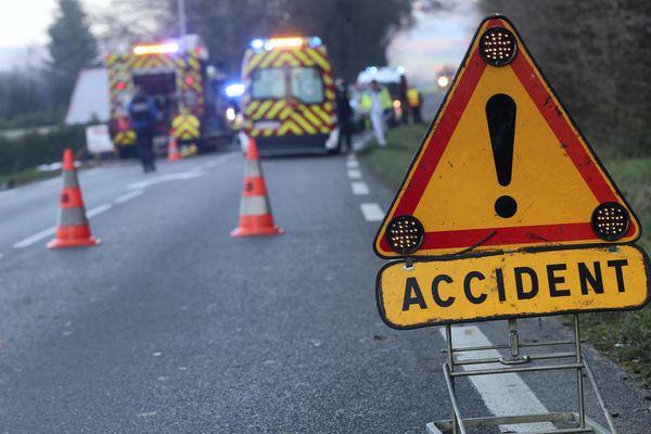 Accident de la circulation - image d'illustration