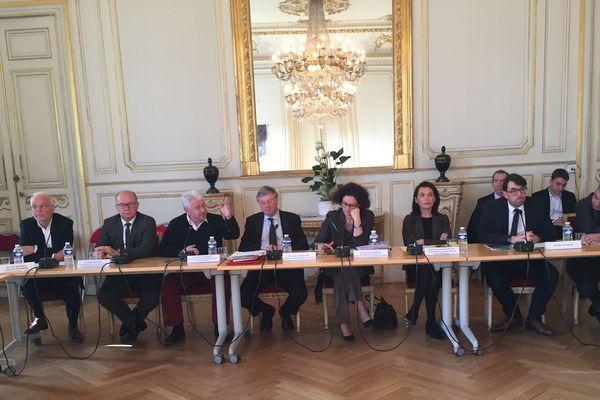 Vendredi 17 janvier, signature du pacte qui préfigure l'avenir de la centrale de Cordemais et du territoire.