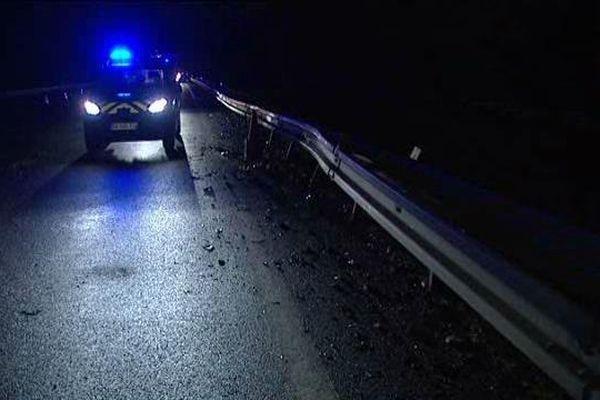 Accident mortel sur l'A71 dimanche soir à hauteur Salbris en direction d'Orléans.