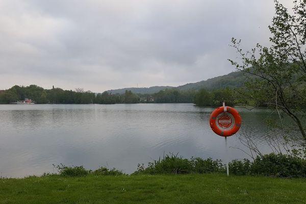 le lac de Caniel en Seine- Maritime