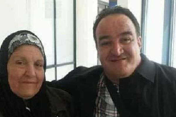 Zenib et son fils Sami Redouane