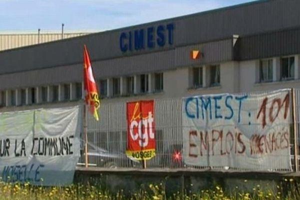 L'entreprise Cimest en septembre 2012.